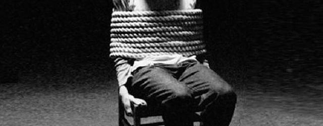 La tortura non si giustifica mai. Campagna di Acat Svizzera
