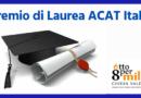Premio di Laurea ACAT. Online il nuovo bando